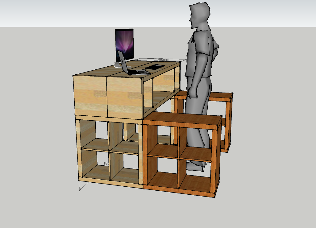 Standing Desk Ikea Hack Carpe Diem Systems Ltd